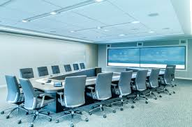Office Meeting Room with Chairs